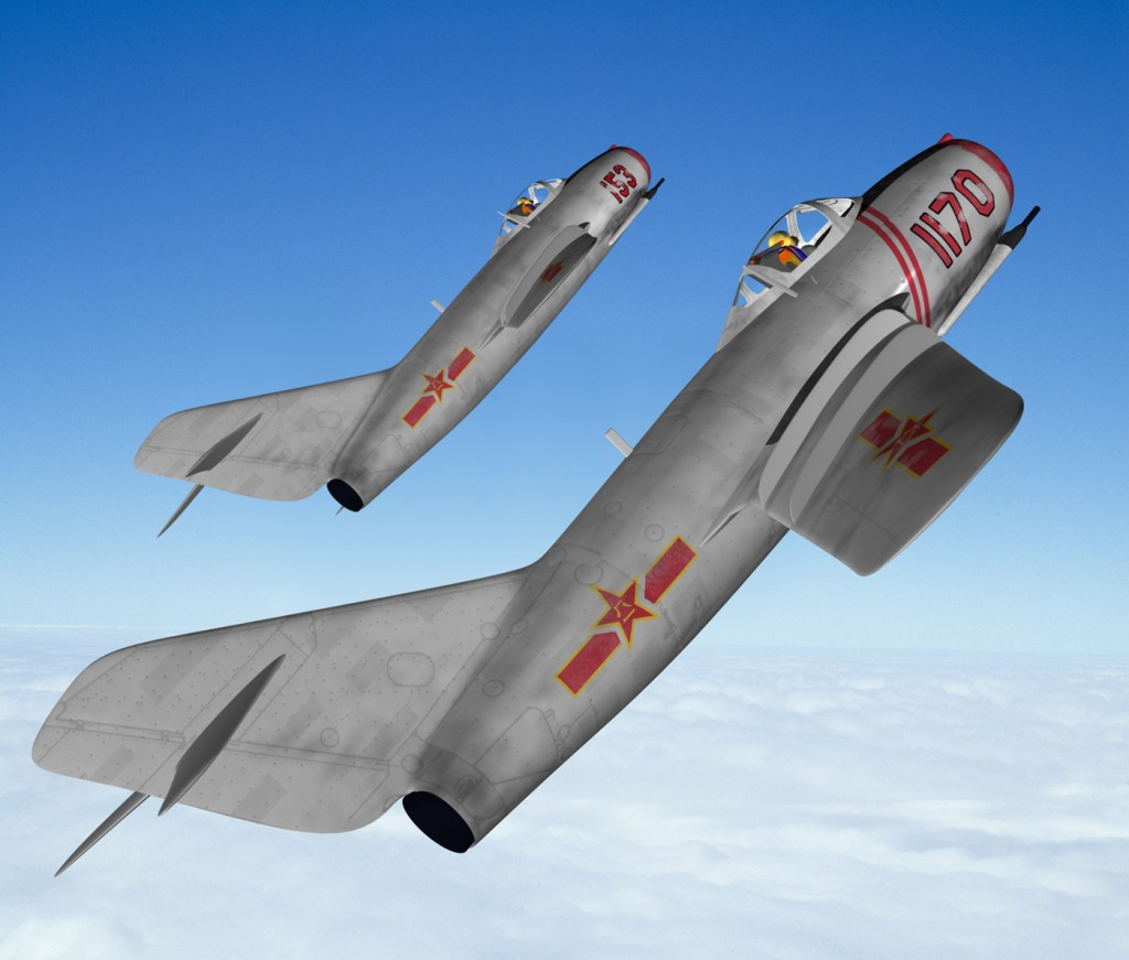 MiG15 two-ship