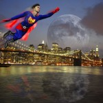 SuperGuy over Manhattan