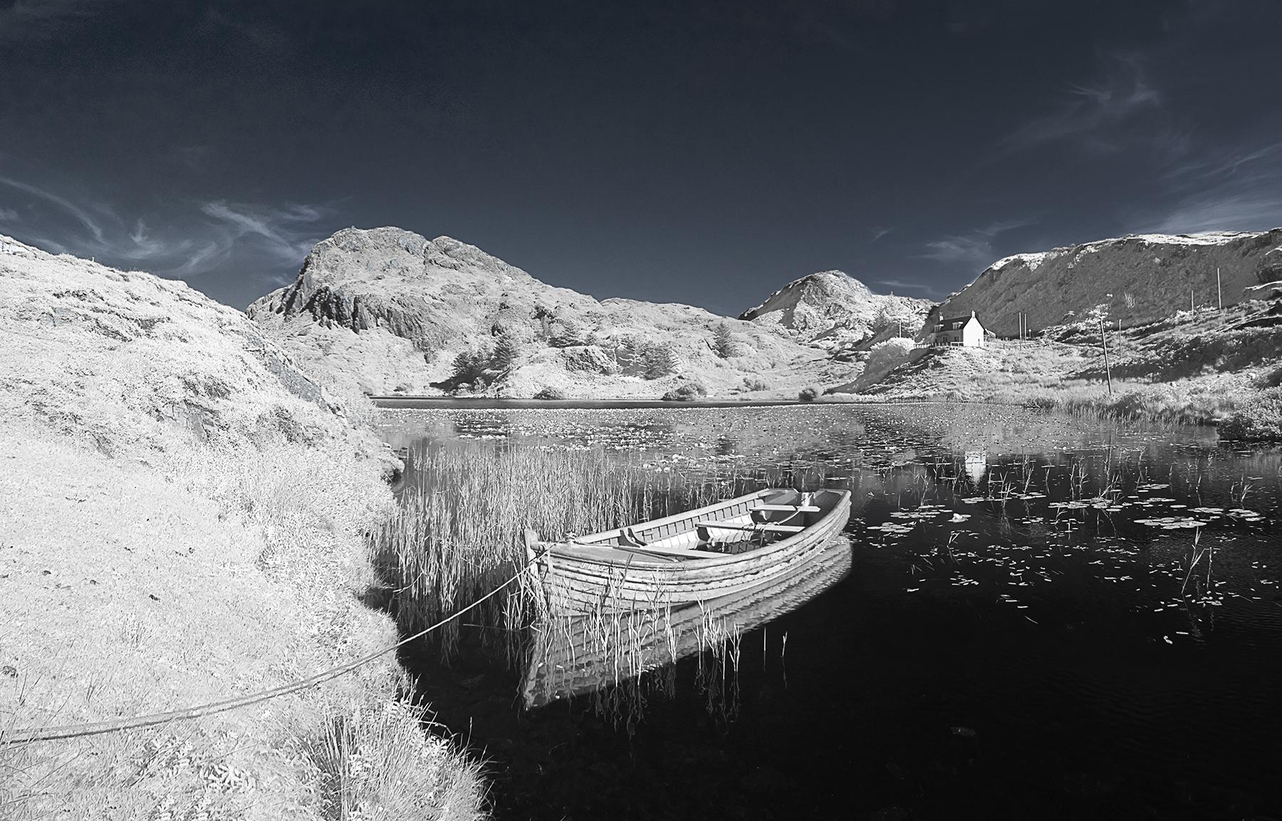 Boat at Tarbet 3573 - 3575