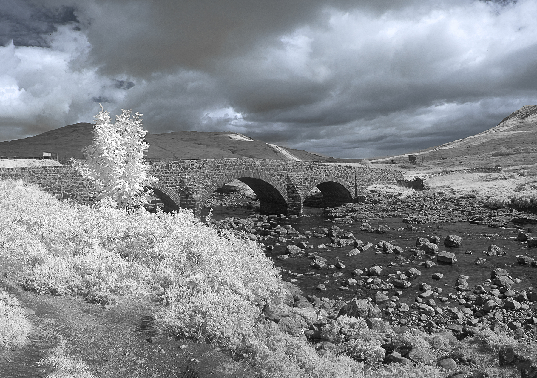 Bridge at Sligachan Skye 3429 - 3420